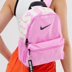 Backpack by Nike Pink just do it mini